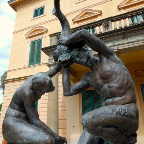 (Valmore Gemignani, Fontana con gruppo di fauni)