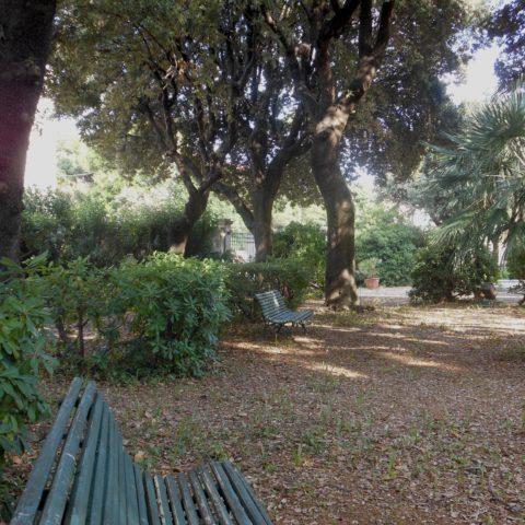 (Il parco di Villa Trossi)