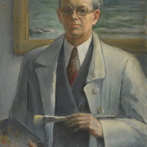 (Dino Uberti, Autoritratto, 1941)