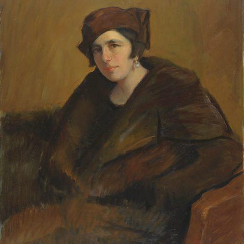 (Dino Uberti, Ritratto della moglie, 1934)