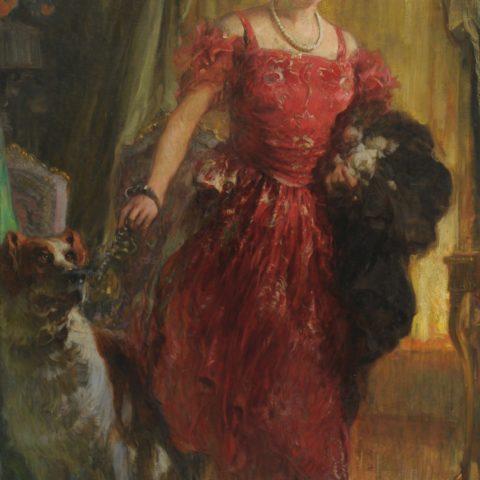 (Vittorio Cavalleri, Ritratto della contessa Corinna Trossi)