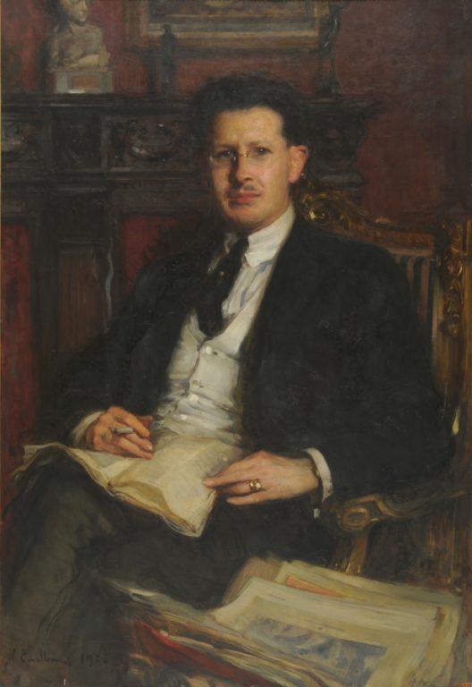 (Vittorio Cavalleri Ritratto di Dino Uberti 1923 (2))